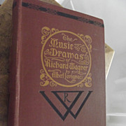 The Music Dramas of Richard Wagner - Red Tag Sale Item