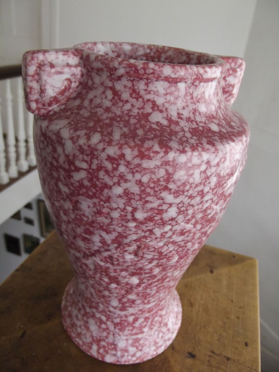 Speckled Pottery Vase