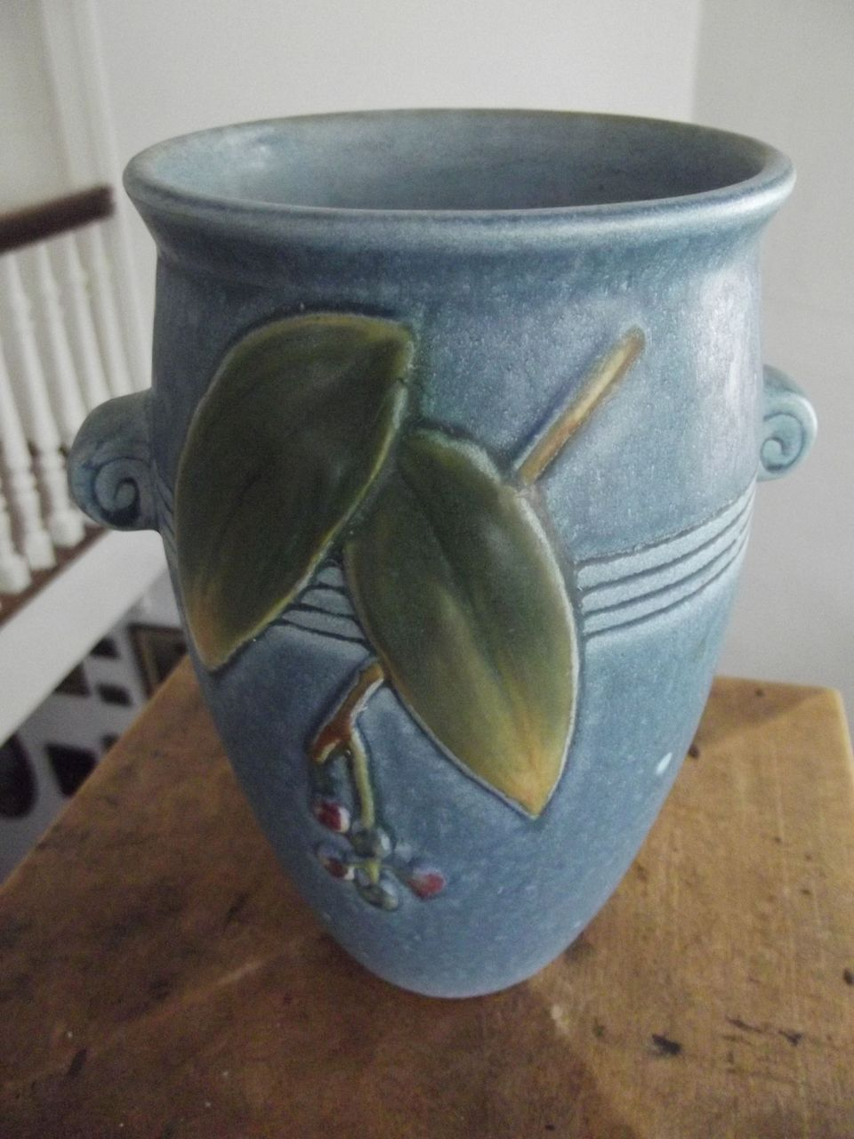 "Weller ""Cornish"" Pottery Vase"