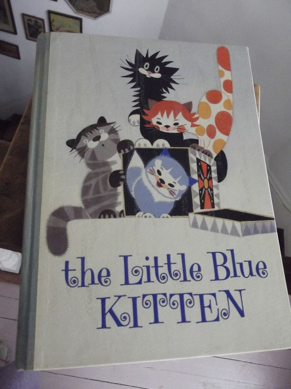 The Little Blue Kitten