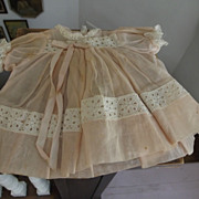 Pink Organdy Baby Doll Dress