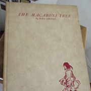 The Macaroni Tree First Edition Signed