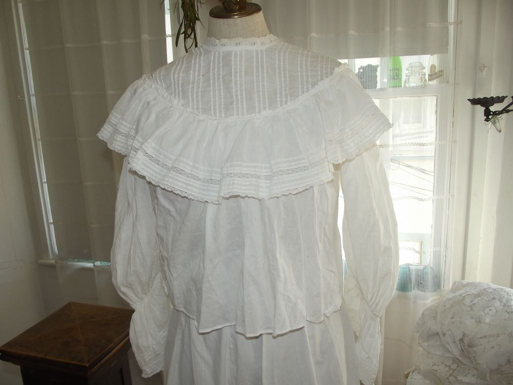 Victorian Lawn Blouse