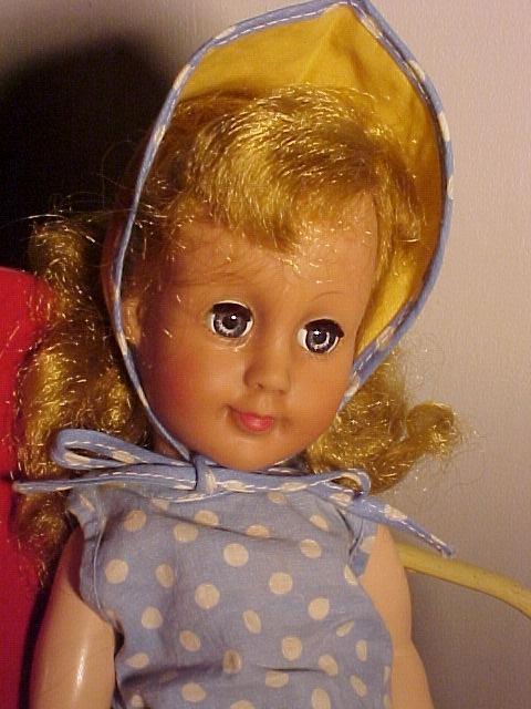 Twin Effenbee Dolls Vinyl / Hard Plastic1950's