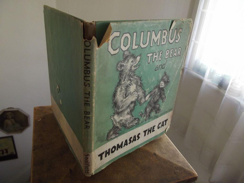 Columbus The Bear and Thomas The Cat