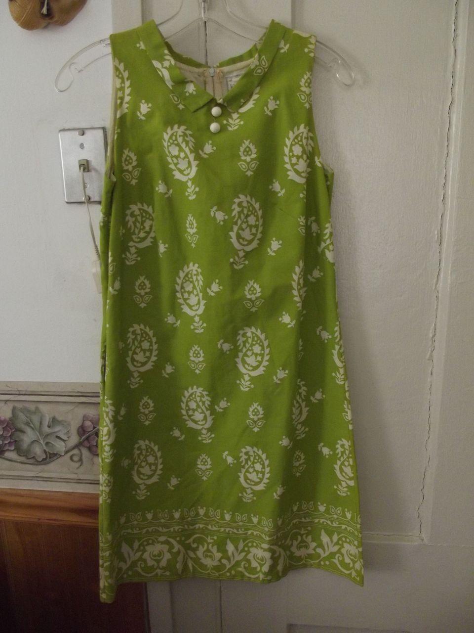 Green Mini Dress For Summer