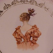 Lovely Old  Imperial H.S. Austria Portrait Plate