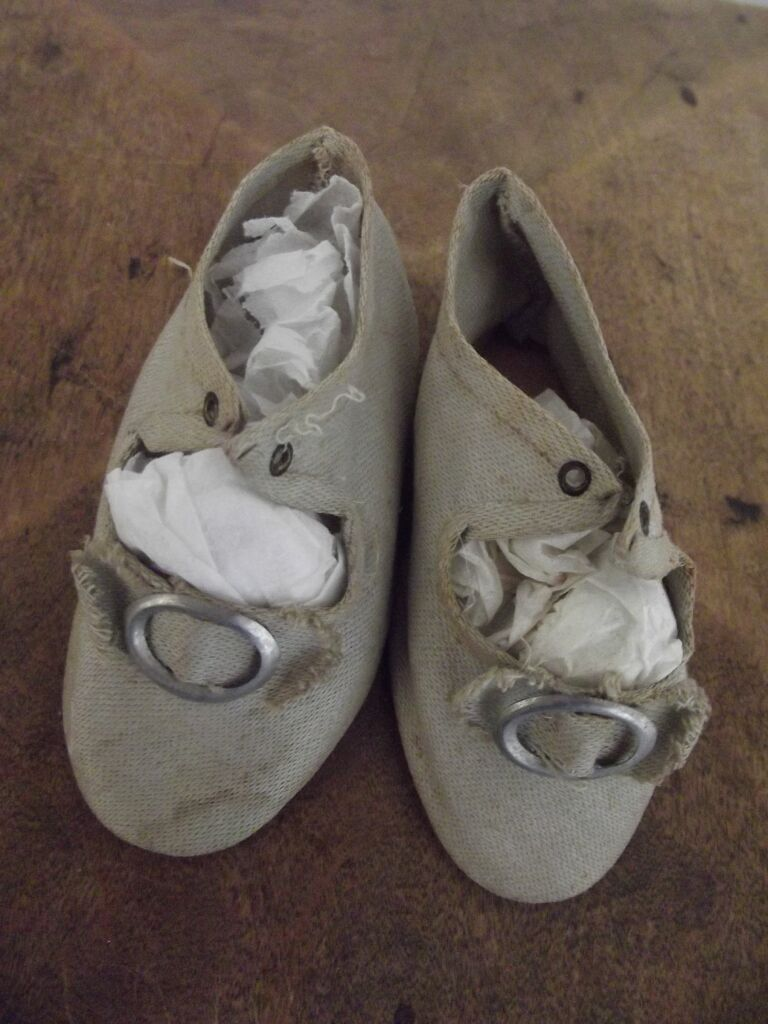 Cloth  Doll Shoes