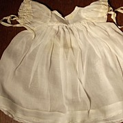 Organdy Dress