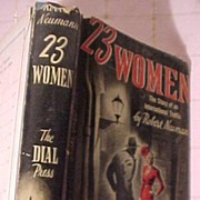 "1940's Book ""23 Women"""