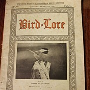 Bird Lore Magazine From 1929
