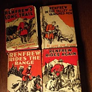Lot of Four Renfrew Books
