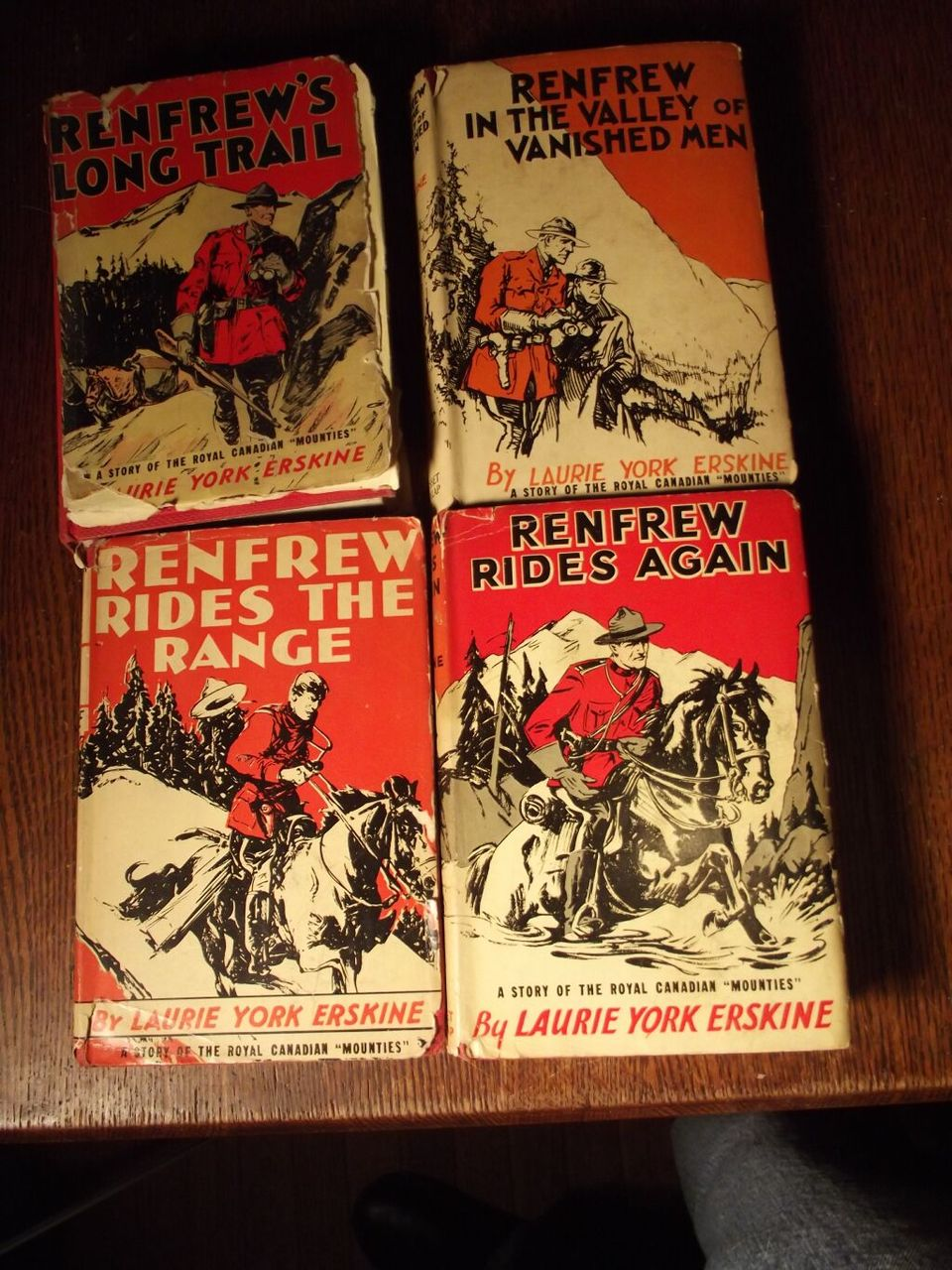 Lot of Four Renfrew Books