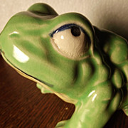 Adorable Frog Planter