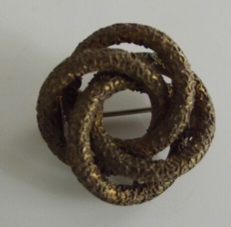 Victorian Love Knot  Pin