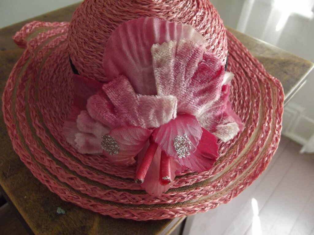 Pretty Pink Hat