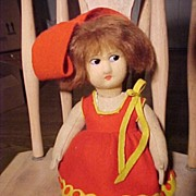 Cute Little Lenci Type Doll
