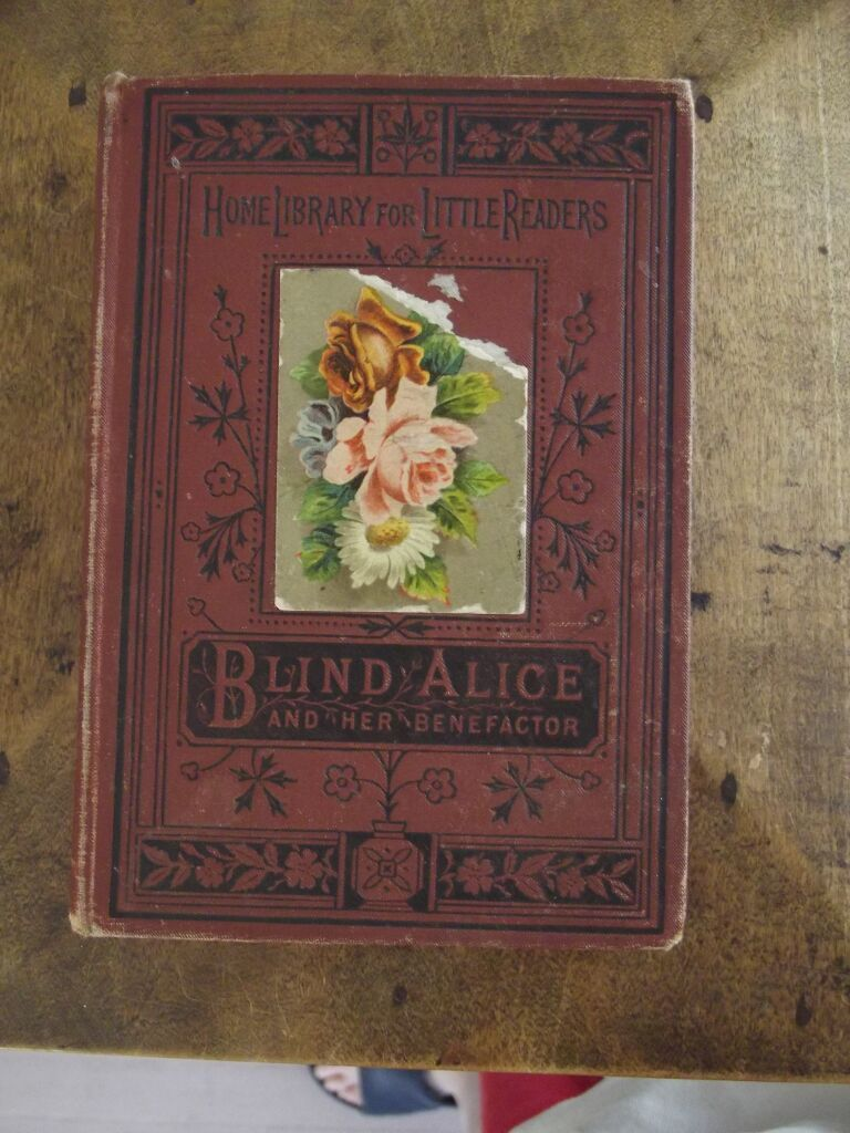 Blind Alice and Her Benefactress