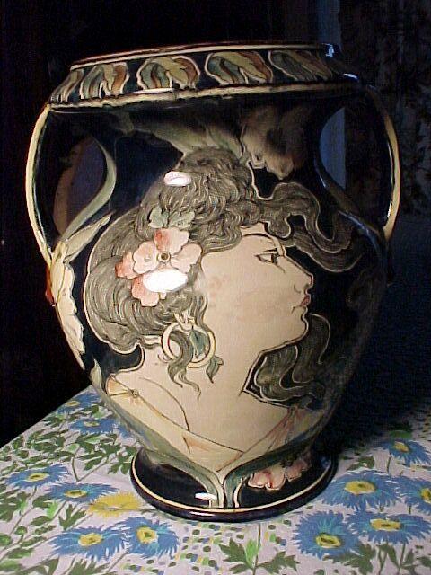 Art Nouveau Royal Bonn Vase