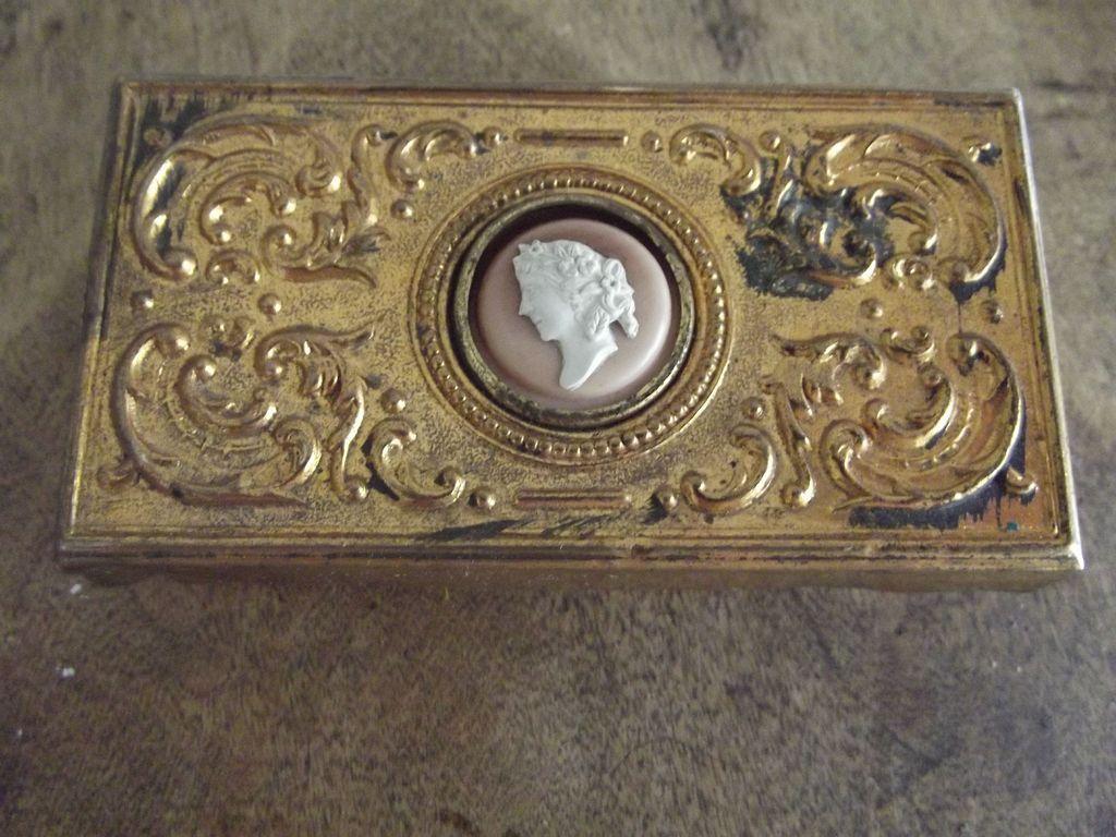 Vintage Copper  or Brass Box