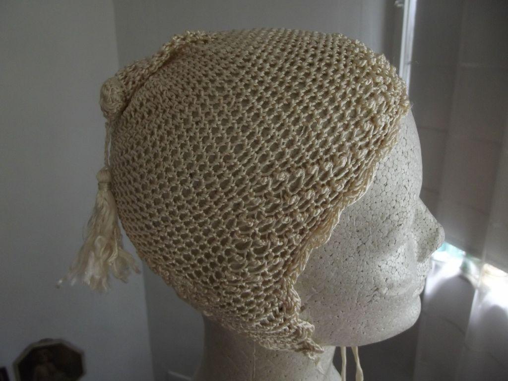 Silk Crocheted Hat