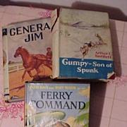 Three Vintage Boy's Adventure books