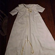 Vintage Flannel Robe Child or Doll