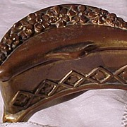 Unusual Shaped Victorian Casket