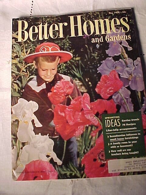 Better Homes and Gardens 1958