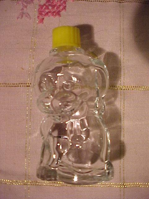 Cute Vintage Puppy Perfume Bottle