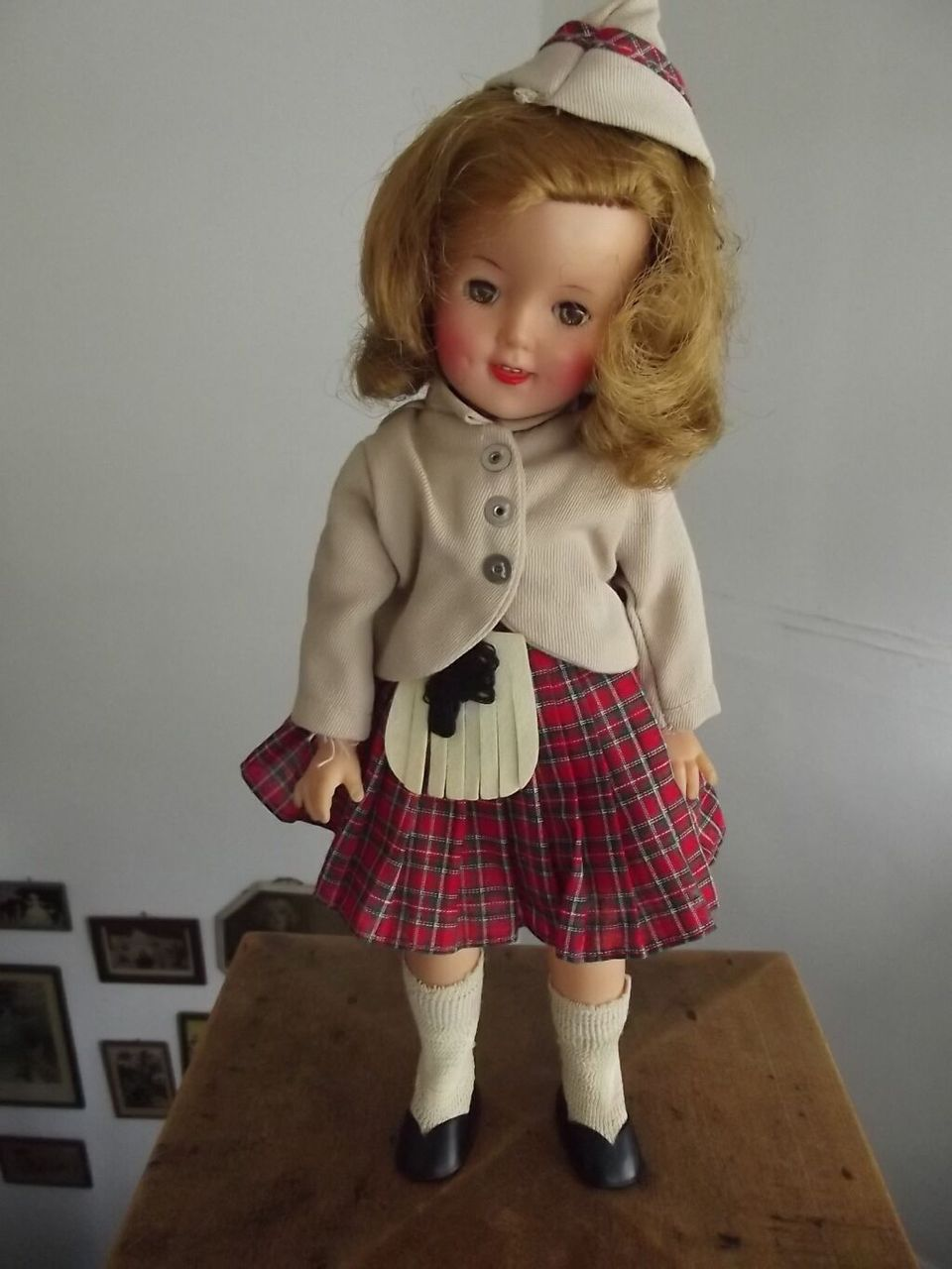 All Original 1957 Shirley Scottish Outfit