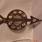 Art Deco Arrow Pin