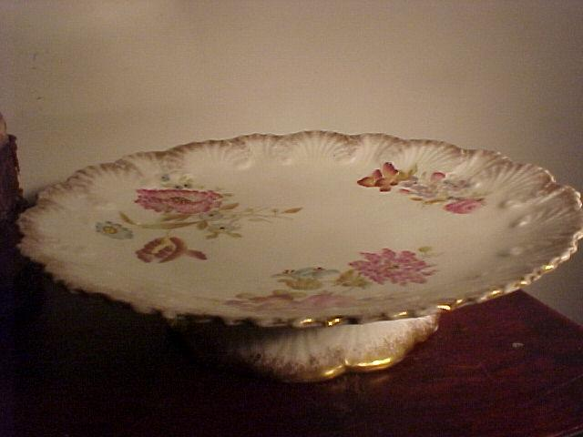 Lovely Victorian Pedestal Cake Plate