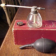 Old Glass Nasal Atomizer