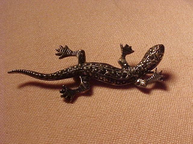 Early Small Sterling Lizard