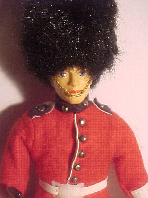 Peggy Nisbet Guardsman Doll