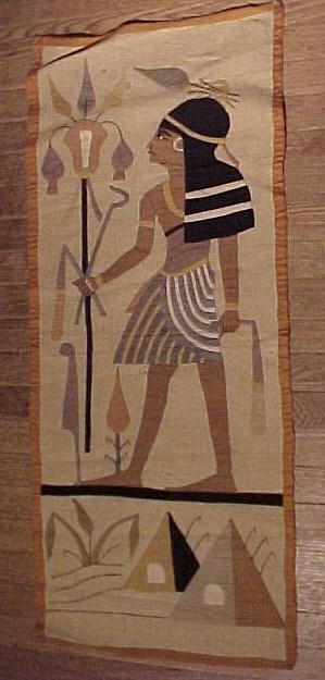Vintage Handmade Egyptian Wall Cloth