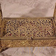 Astounding Victorian Bed Jewelry Box