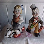 Sitzendorf Boy and Girl