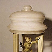Art Deco Dancing Girl Lamp