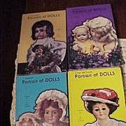 Four Volume Set of Portrait of Dolls