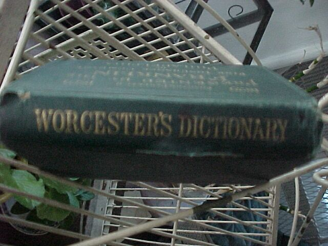 Worcester's Dictionary
