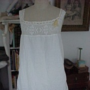 Nightgown With Embroidery