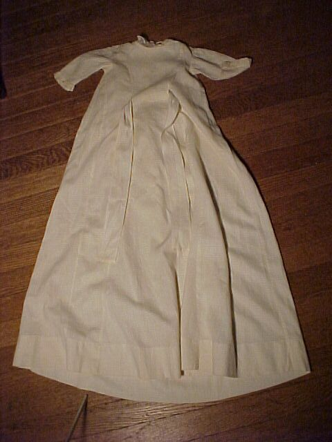 Long Victorian Baby Gown