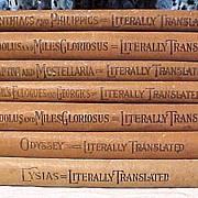 Set of Six Old Books
