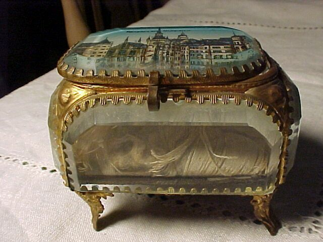 Ormolu Box With Scene of Muchen