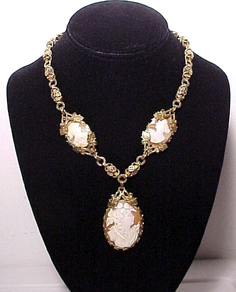 Fabulous Cameo Necklace