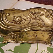 Large Casket  Box With Birds