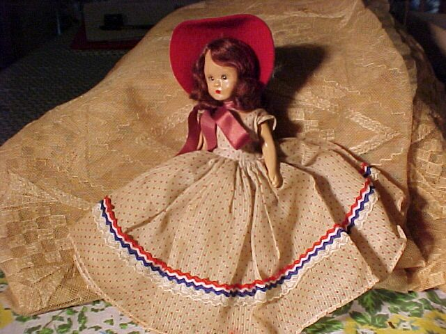 Sleep Eyed Nancy Ann Storybook Doll