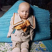 Pretty  Little Gebruder Heubach Pouty Boy